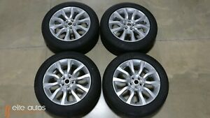 New Take Off 20 Inch Oem Range Rover Full Size Sport Wheels And Tires Michelin