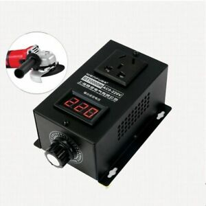 Variable Speed Controller 0 220v 10000w Electronic Machinery Tool Electric Power