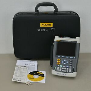 Fluke Biomedical 199xray Medical Scopemeter 200mhz 2 5 Gs s With Case 20651c41