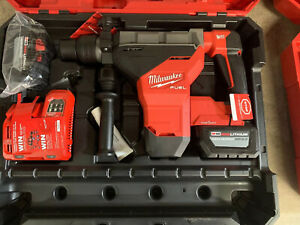Milwaukee 2718 22hd M18 Fuel 1 3 4 Inch Sds Max Rotary Hammer One Key Kit
