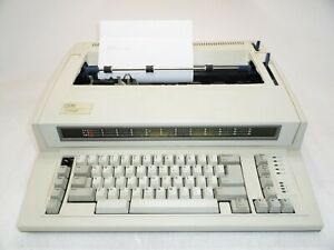 Ibm Lexmark Personal Wheelwriter 2 Type 6781 025 Electronic Typewriter