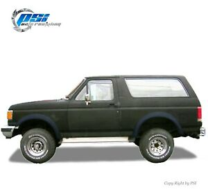 Textured Extension Fender Flares Fits Ford F 150 F 250 F 350 Bronco 1987 1991