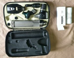 Welch Allyn Diagnostic Set Otoscope Ophthalmoscope With Case