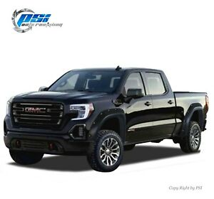 Paintable Pocket Fender Flares Fits Gmc Sierra 1500 2019 2020 5 8 And 6 6 Bed