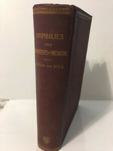 Super Rare Antique Medical Book Anomalies And Curiosities Of Medicine 1900