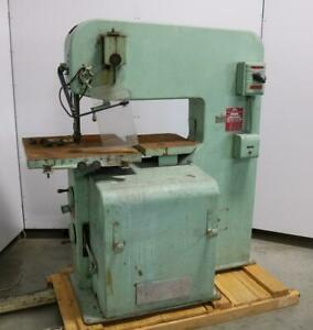 Doall 3613 2 Band Saw 36 Throat With Blade Welder