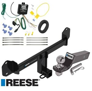 Reese Trailer Tow Hitch For 11 19 Bmw X3 Complete Package W Wiring And 2 Ball