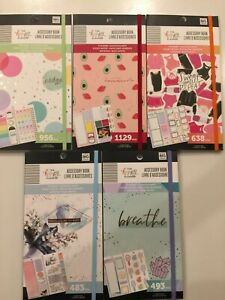 The Happy Planner Accessory Book You Pick New