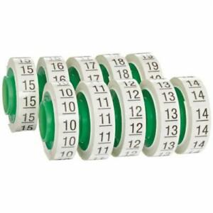 Sdr 10 19 Wire Marker Tape Refill Roll Numbers 10 19 pack Of 10