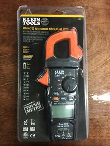 new Klein Tools Cl800 600a Ac dc True Rms Auto ranging Digital Clamp Meter