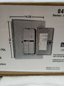 Square D Indoor Load Center 125a 12 Spaces 24 Circuits Main Lugs Only 84120