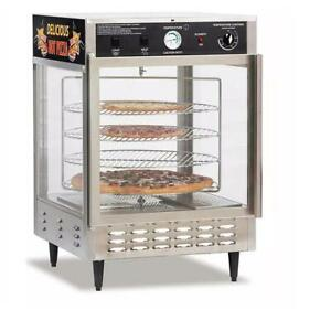 Gold Medal 5550pz 23 Countertop Pizza Humidified Display W 4 18 Pizza Racks
