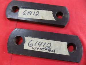 Western Unimount Link Arms Uni Mount Snow Plow Arm Oem 61412