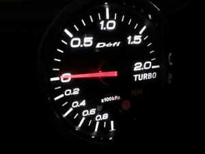 Defi Bf Turbo Boost Gauge Only White 60mm Jdm