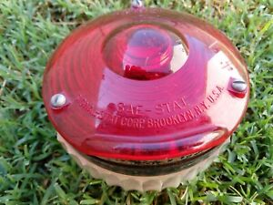 Cyclostat Vintage Single Sided Red Brake Tail Light