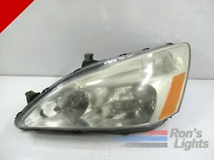 2003 2004 2005 2006 2007 Honda Accord Halogen Headlight left driver Oem