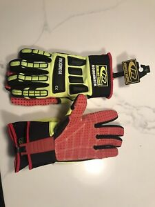 Ringers R 267 Roughneck Heavy Duty Work Gloves Impact resistant Gloves Lg m