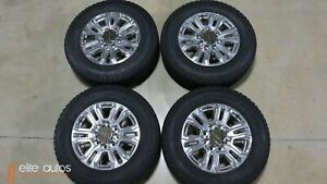 New 20 Inch Gmc Denali 2500 3500 Hd Wheels And Tires 2020 Oem Factory Chevrolet