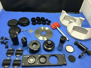 Microscope Parts Accessories Lot Zeiss Ao Lens Axiovert Imager Parts Kp