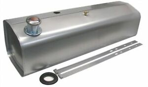 1928 1932 Chevy Alloy Coated Steel 15 Gallon Fuel Tank With Chrome Twist on Cap