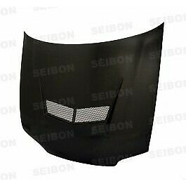 Seibon Vsii Style Carbon Fiber Hood For 1992 1995 Honda Civic 4dr