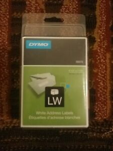 Dymo Lw White Address Labels 30572 520 Count 2x260 3 1 2 X 1 1 8 New