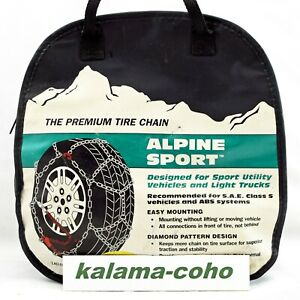 Alpine Sport Lt Tire Snow Chains 2317 265 70r15lt P235 70r17 245 65r17 225 65r18