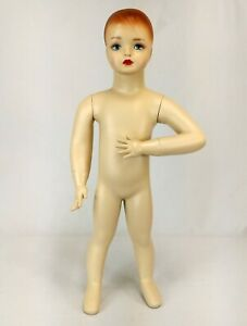 Less Than Perfect Mn 034 Standing Baby Toddler Mannequin 30 5 Tall