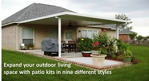 Aluminum Patio Cover Kit 032 Flat Pan 12 X 20 Diy Kit Complete