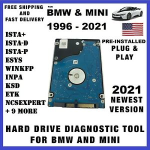 new 2020 Bmw Mini Ista D p Professional Dealer Diagnostic Programming Laptop