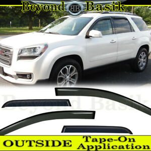 2007 2013 2014 2015 2016 Gmc Acadia Smoke Door Vent Window Visors Rain Guards