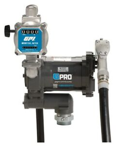 Gpro Pro20 115md m30 g8n 115v 20 Gpm Fuel Transfer Pump With M30 Meter Gallon