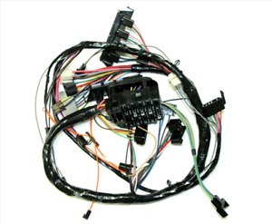 1969 Camaro Dash Wiring Harness For Console Shift A t A c With Warning Lights
