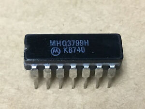 1 Pc Motorola Mhq3799h Transistor Array Nsn 5961 01 041 6717