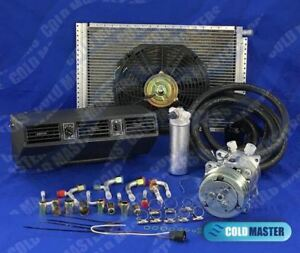 A c kit Universal Underdash Evaporator Heat Cool 404n Electric Harness