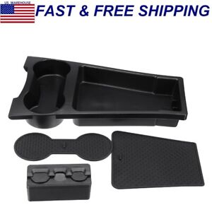 For Toyota Prius 2010 15 Center Console Car Storage Box Cup Drink Holder Tray