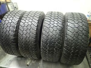 4 255 70 16 109t Goodyear Wrangler Silent Armor Tires 8 5 9 32 No Repairs 4311