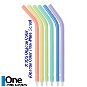Dental Disposable Air water Syringe Tips Assorted Colors 250 Pcs