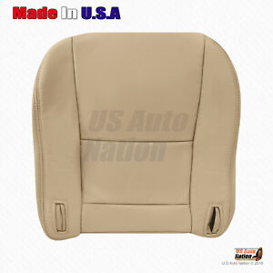 Fits 1997 To 2001 Lexus Es300 Front Driver Bottom Leather Replacement Cover Tan