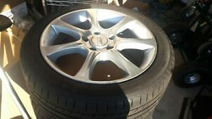 4 X Sport Edition Rims And Michelin Winter Tires wheel Set Bmw 328i 2010