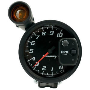 Equus Tachometer Gauge 6080 Shift Lite Tach 0 To 10000 Rpm 5 Black Electric