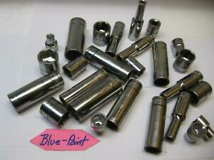 Blue Point Tools 3 8 Drive Metric Deep Shallow Sockets Sold Each Nice