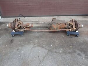 92 97 Ford F350 Front Dana 60 Axle Assembly Srw 3 54