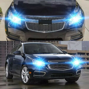 For Chevy Cruze 2011 2012 2016 2pc 8000k Led Headlight Bulbs High Low Beam
