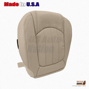 2010 2011 2012 Buick Enclave Front Driver Bottom Vinyl Perforated Seat Cover Tan