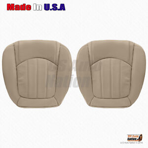 2008 2012 Buick Enclave Driver Passenger Bottom Perforated Leather Cover Tan
