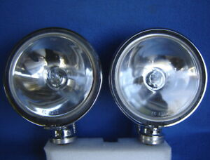 Pair 2 Kc Daylighter 4213 Chrome 6 Driving Lights Street Off road Baja Rollbar