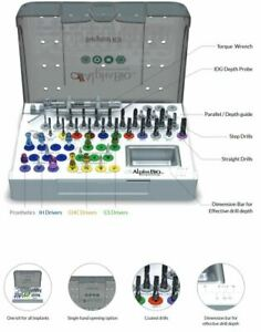 Alpha Bio Surgical Kit Dental Implant Systems Dentist Guided Surgery Tool