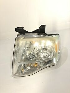 2007 08 09 10 11 12 13 2014 Ford Expedition Left Driver Side Headlight Oem
