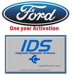 Ford Ids Vcmm Vcm 2 Software Dealer Software License Activation 1 Year Licence